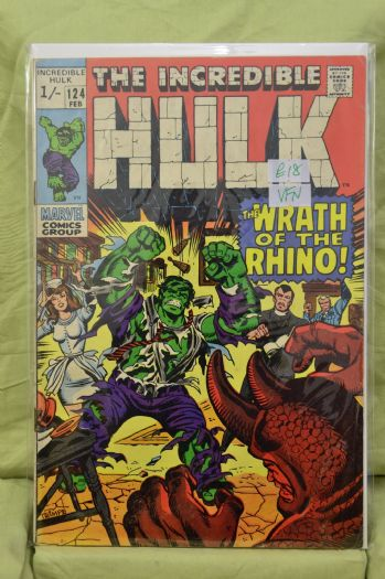INCREDIBLE HULK (1963) Volume 1: # 0124 FN